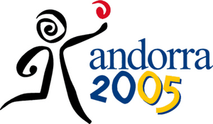 2005 Games of the Small States of Europe - Image: Andorra 2005logo