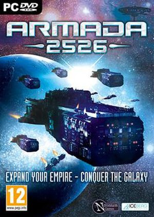 Armada 2526 - Box art for Armada 2526
