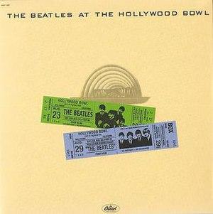 The Beatles at the Hollywood Bowl - Image: At the hollywood bowl