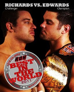 Best in the World 2011 event