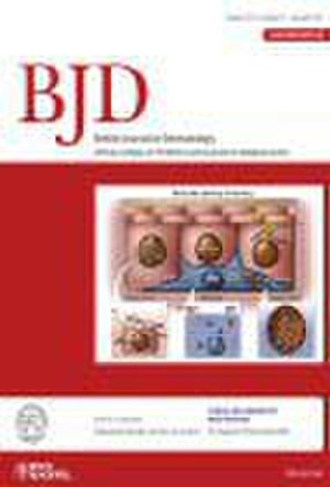 British Journal of Dermatology - Image: BJD journal cover