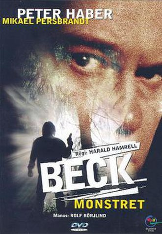 Beck – Monstret - Swedish DVD-cover