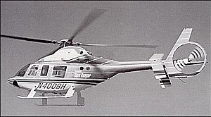 Bell 400 TwinRanger - A Bell 400 prototype