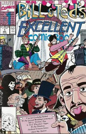 Bill & Ted's Excellent Comic Book - Image: Bill And Teds Excellent Comic Book