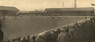 Bloomfield Road - Bloomfield Road in the first half of the 20th century, also from the south-east corner.
