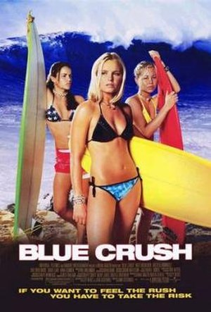 Blue Crush - Theatrical release poster