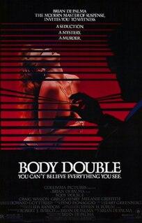 <i>Body Double</i> 1984 film directed by Brian De Palma