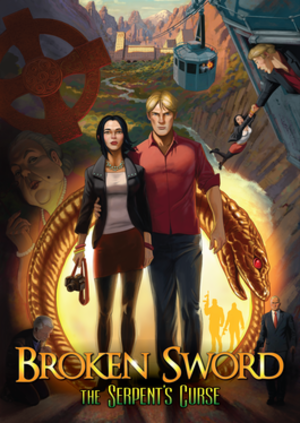 Broken Sword 5: The Serpent's Curse - Image: Broken Sword The Serpent's Lair promotional artwork
