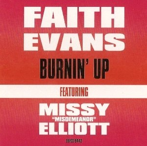 Burnin' Up (Faith Evans song) - Image: Burnin Up