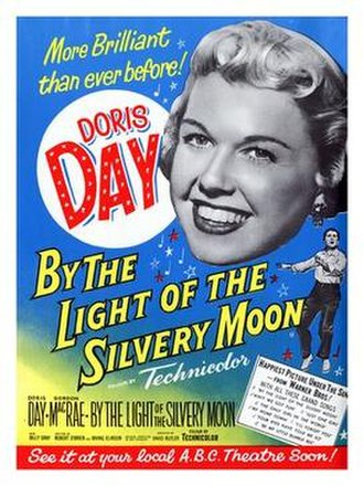 By the Light of the Silvery Moon (film) - Theatrical release poster