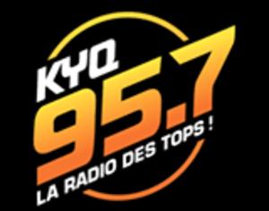 CKYQ-FM - Image: CKYQ KYQ95.7 logo