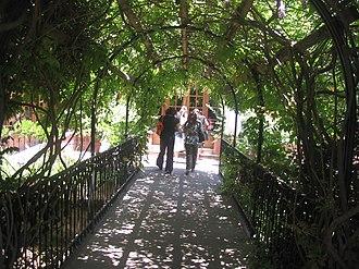 Carlos Cardoen - Entrance to Colchagua Museum, property of Cardoen.