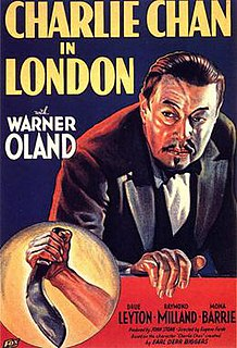 <i>Charlie Chan in London</i> 1934 American mystery film directed by Eugene Forde