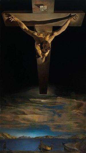 Perichoresis - Christ of Saint John of the Cross by Salvador Dalí, 1951.