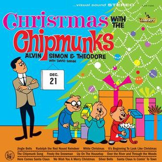 Christmas with The Chipmunks - Image: Christmas 1961