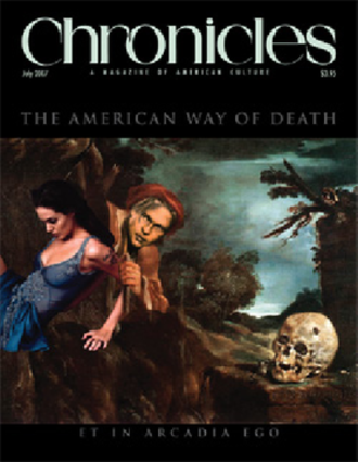 Rockford Institute - Cover of the July 2007 issue of Chronicles