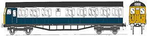 British Rail Class 304 - A Class 304 in BR Blue and Grey livery