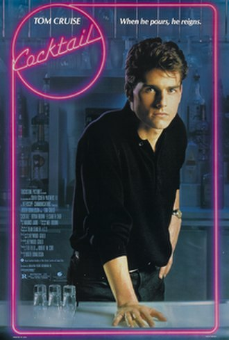Cocktail (1988 film) - Theatrical release poster