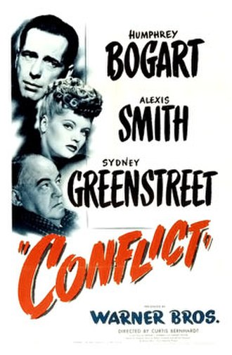 Conflict (1945 film) - Theatrical release poster