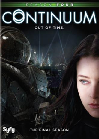 Continuum (season 4) - DVD cover art
