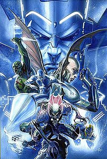 <i>Annihilation</i> (comics) Crossover storyline published by Marvel Comics, highlighting several outer space-related characters in the Marvel Universe