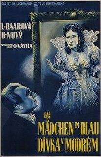 <i>Dívka v modrém</i> 1940 film by Otakar Vávra