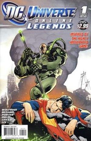 DC Universe Online: Legends - Image: DC Universe Online 1 Variant