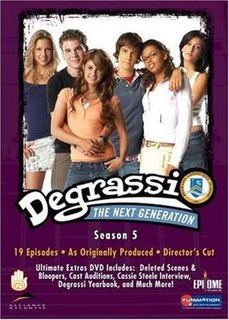 <i>Degrassi: The Next Generation</i> (season 5) season of television series