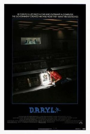 D.A.R.Y.L. - Theatrical release poster