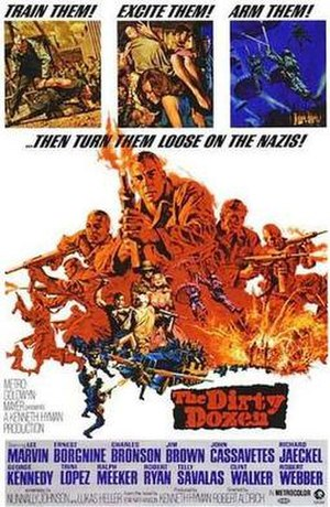 The Dirty Dozen - Theatrical release poster by Frank McCarthy