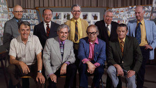 Disneys Nine Old Men Core group of animators for Walt Disney Productions in the mid-20th century