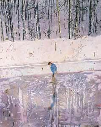 Peter Doig - Blotter, 1993, Walker Art Gallery, Liverpool.