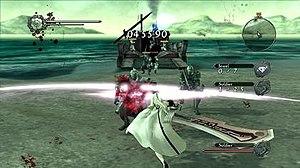 Drakengard 3 - Image: Drakengard 3 gameplay screenshot