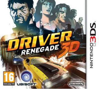 <i>Driver: Renegade 3D</i> video game for the Nintendo 3DS