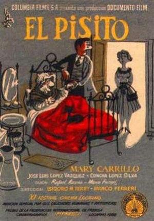 El Pisito - Spanish theatrical release poster