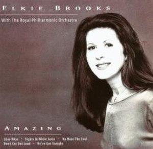Amazing (Elkie Brooks album) - Image: Elk AMAZ