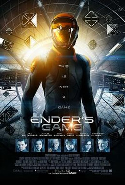 Picture of a movie: Ender's Game