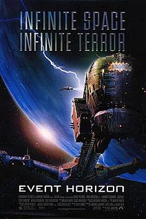 <i>Event Horizon</i> (film) 1997 UK-US science fiction horror movie directed by Paul W. S. Anderson