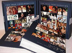 "For Your Consideration (advertising) - A ""For Your Consideration"" promotional box set from HBO"