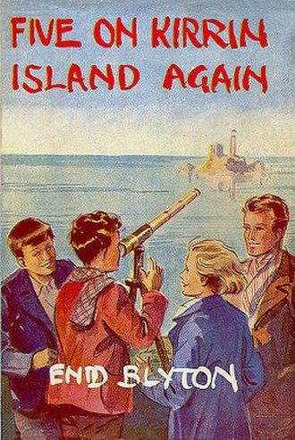 Five on Kirrin Island Again - Original 1947 first edition cover