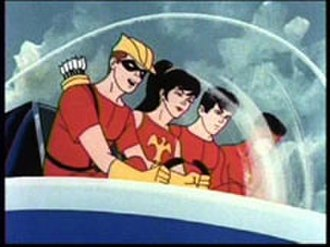 Teen Titans - The Filmation adaptation of the Teen Titans in The Superman/Aquaman Hour of Adventure.