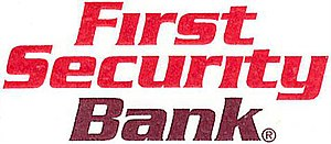 First Security Corporation - Image: First Security Bank