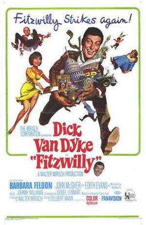 Fitzwilly - film poster by Frank Frazetta