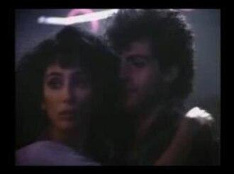 """I Found Someone - Cher and Rob Camilletti in the """"I Found Someone"""" video."""