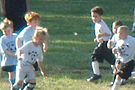 Frontier Park, soccer players