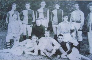 Fulham F.C. - The Second XI team, in 1886