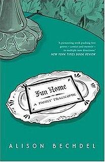 <i>Fun Home</i> book
