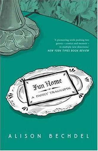 Fun Home - Cover of the hardback edition