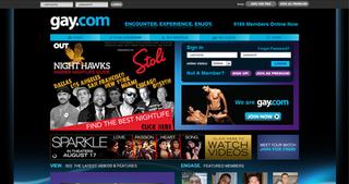 gay.com Social networking website