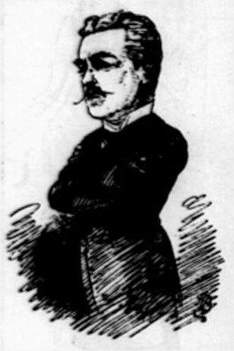 George Rignold - 1884 magazine sketch of Rignold